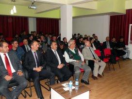 Seydişehirde kariyer planlaması semineri