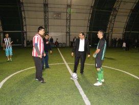 Hadim Belediyesi Futbol Turnuvası başladı