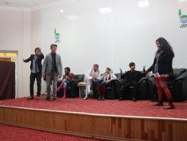 Bozkır'da Yalancı oyunu sahnelendi