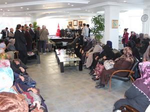Şehit aileleri Beyşehir'i gezdi