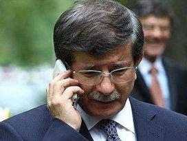 Davutoğlundan THY personeline telefon