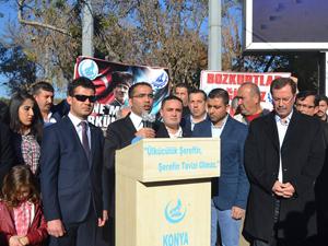 'Türkmenler ateşten kurtarılmalı'