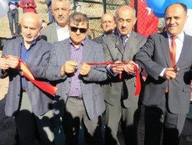 Beyşehirde spor sahası açılışı