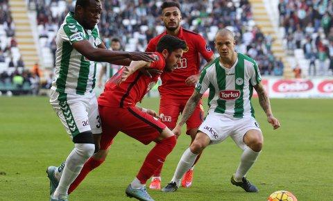 Torku Konyaspor'da gollere yabancılar damga vurdu