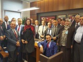 AK Parti Kulu Teşkilatından Abdullah Ağralı'ya ziyaret