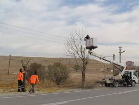 Cihanbeyli Belediyesinde çevre düzenleme çalışmaları