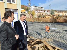 Hadim Devlet Hastanesi inşaatı daha hızlı ilerleyecek