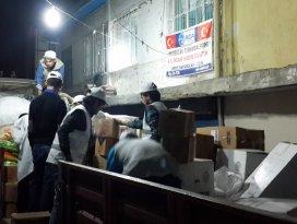 RİDA Derneği'nden Türkmenlere yardım tırı