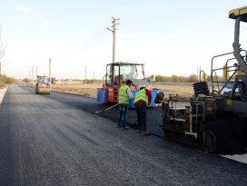 Meram'da asfalt ve altyapı çalışmaları