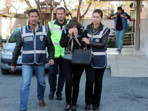 Müebbet alan Rus kadın Konyada yakalandı