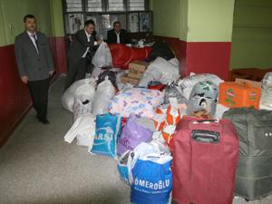 Bayır-Bucak Türkmenlerine yardım