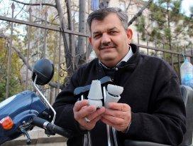 Ortopedik engelli vatandaştan hayat kurtaran hizmet