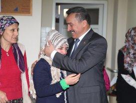 Tutal'dan rehabilitasyon merkezlerine ziyaret