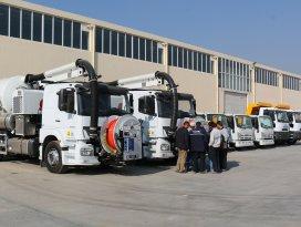 KOSKİ'ye yeni araçlar