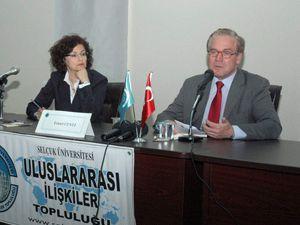 Almanya Büyükelçisi Konyada