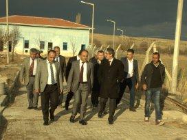 Beyşehirdeki atıksu arıtma tesisinde inceleme