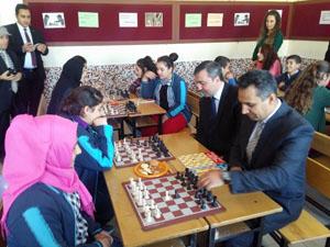 Kulu'da satranç sınıfı açıldı