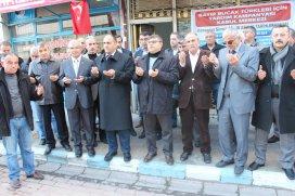 Beyşehir'de Türkmenler için yardım kampanyası