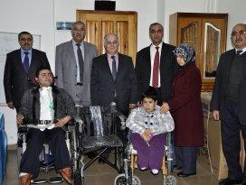 Engelli vatandaşlara hediye