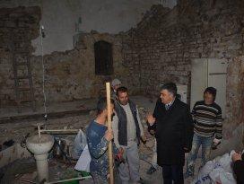 Ereğli'de şifa hamamı tadilata alındı
