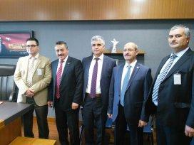 Başkan Tutal Ankara'da temaslarda bulundu