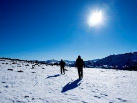 Eğrigöl kışın da fotoğraf tutkunlarını ağırlıyor