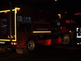 Seydişehir'de yangın korkuttu