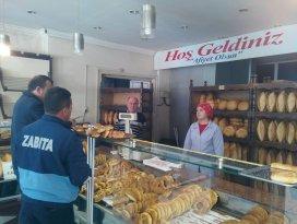 Beyşehir'de zabıtadan fırın denetimleri