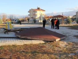 Cihanbeyli'de parklara zarar veriliyor
