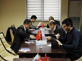 KTOda Çinli işadamları ile görüşme