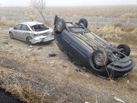 Konyada zincirleme trafik kazası: 15 yaralı
