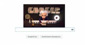 Googledan Beethovena özel doodle