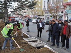 Seydişehir'de çevre düzenlemeleri sürüyor