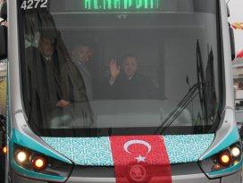 Erdoğandan metro açıklaması