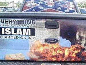Müslümanları ayağa kaldıran araba