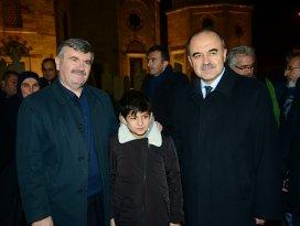 Vali ve Başkan, Mevlana Müzesi'ni ziyaret etti