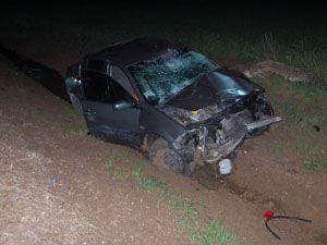 Otomobil motosiklete çarptı: 2 ölü 2 yaralı