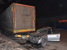 Konyada trafik kazaları: 1 ölü, 3 yaralı