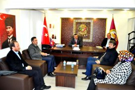 Konya AK Parti il teşkilatı Seydişehirde