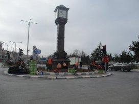 Beyşehir, ilkbahar için hazırlıklara başladı