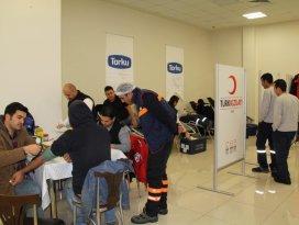 Konya Şekerde 7. kan bağışı kampanyası