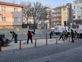 Akşehir Belediyesinden dolgu çalışması
