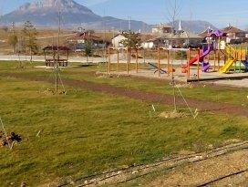 Seydişehire yeni çocuk oyun parkı