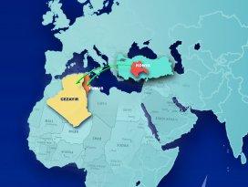 İlk yurt dışı organizasyon Tunus ve Cezayire