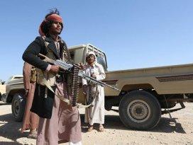 Husiler Suudi Arabistana füze attığını ileri sürdü