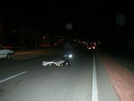 Konyada otomobilin çarptığı Senegalli genç öldü