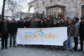 AK Parti Karatay Gençlik Kolları sabah namazında bir araya geldi