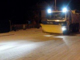 Çumra Belediyesi'nden kış mesaisi