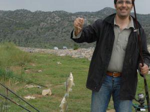 Konyada doyumsuz balık keyfi