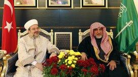 Diyanet İşleri Başkanı Görmez Suudi Arabistanda